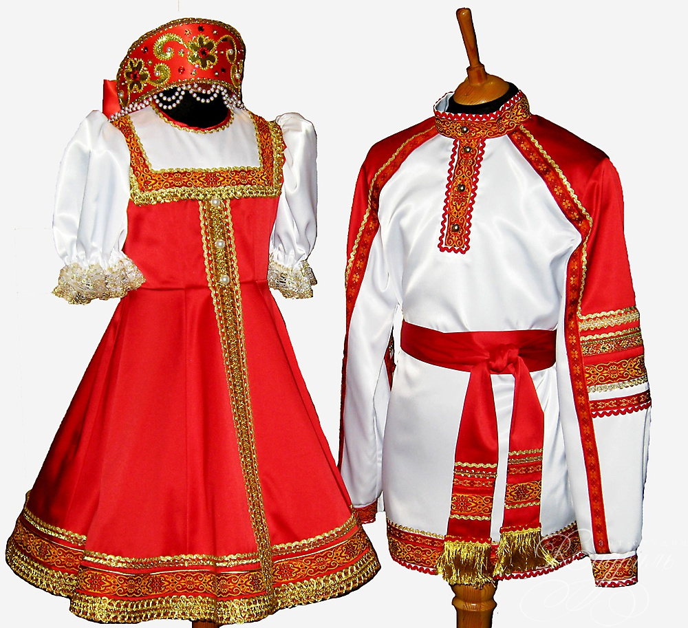 Traditional: Russian Traditional Costumes