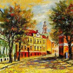 Russian autumn in the paintings