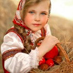 Russian traditional costumes