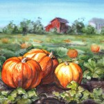 Autumn in the watercolor